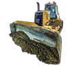product - Earthworks Dozer Cab mounted
